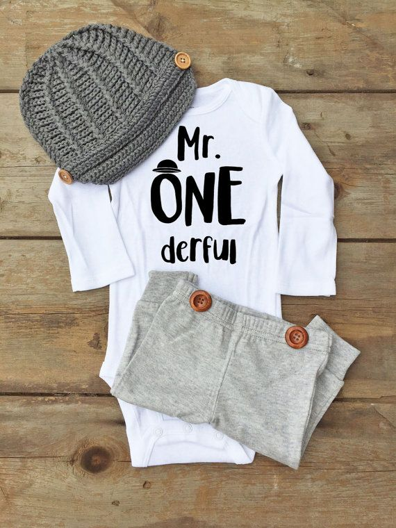 1st Birthday Baby Outfit for Boy First Birthday Baby Outfit for