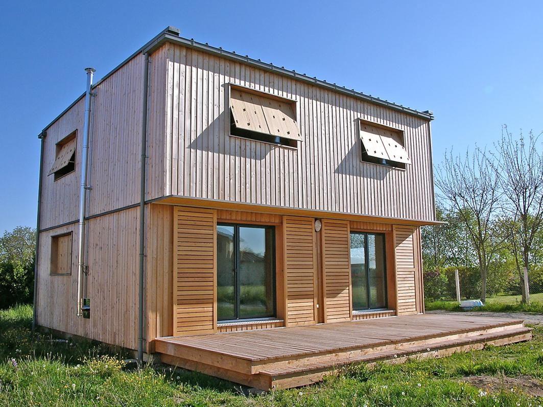 Petite Maison Contemporaine Ecologique De Niveau Passif Tiny Alt
