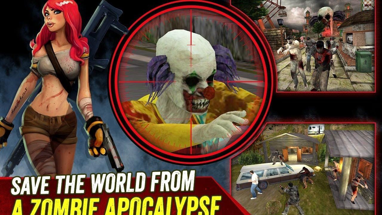 Zombie Hunter Apocalypse Android and IOS gameplay Games