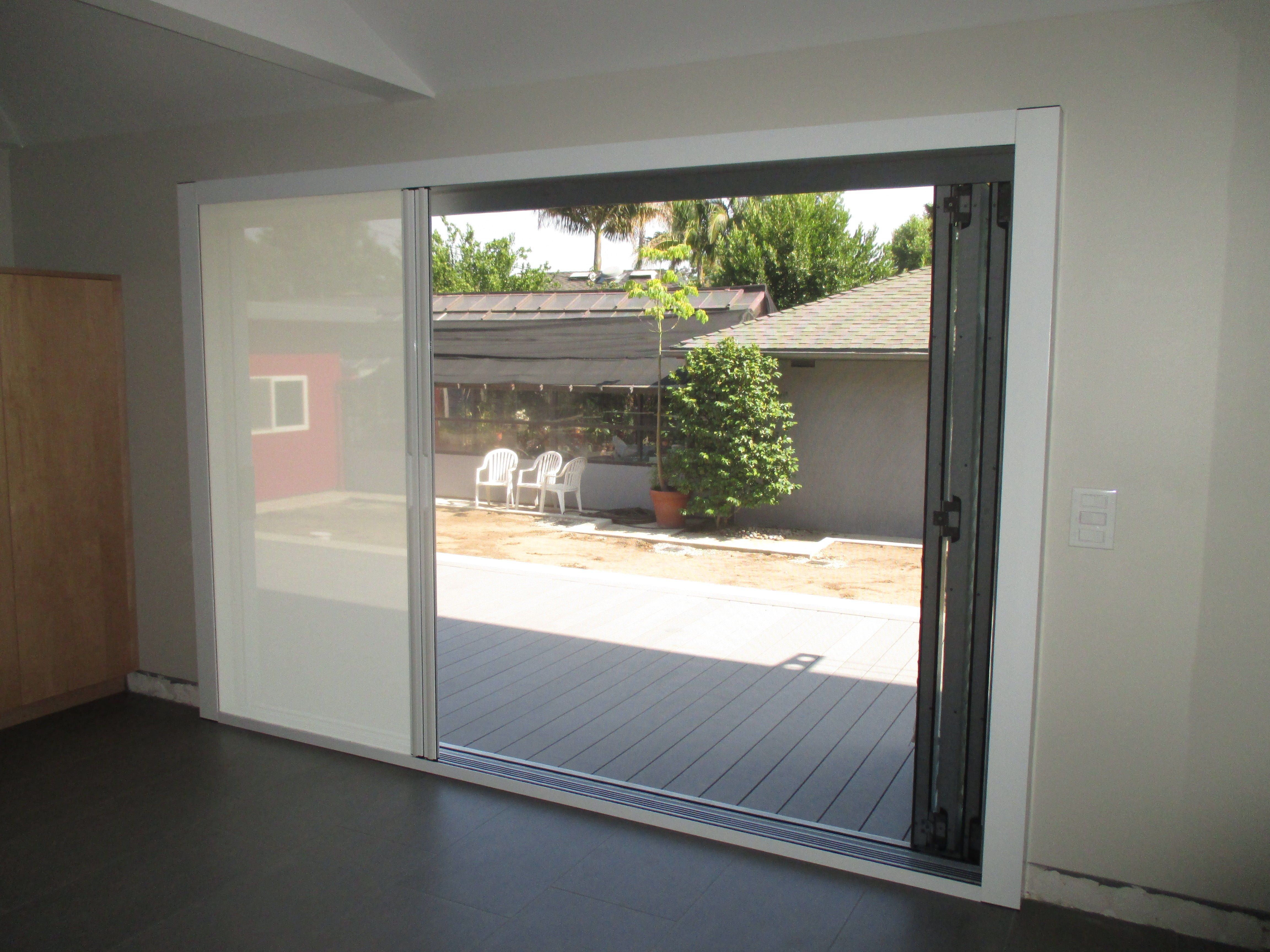 Our team did a unique installation of a double door Centor Screen with Black Super Screen & Our team did a unique installation of a double door Centor Screen ...