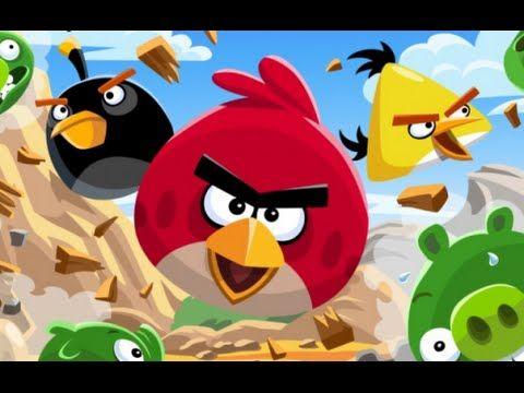 Angry Birds Desenhos Animados Em Portugues Filmes Completos Dublados Hd Angry Birds Bird Birthday Parties Party Themes