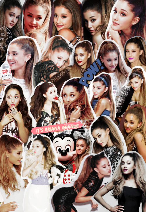 Ariana Grande Tumblr Collage 2014 tumblr ariana g...