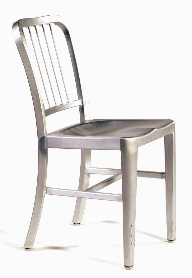 Lacquered Aluminum 2 273 23 Side Chairs Chair Kitchen Chairs