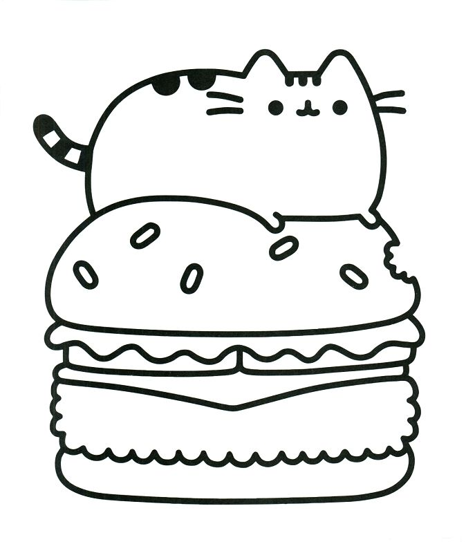 Pusheen Pictures To Print