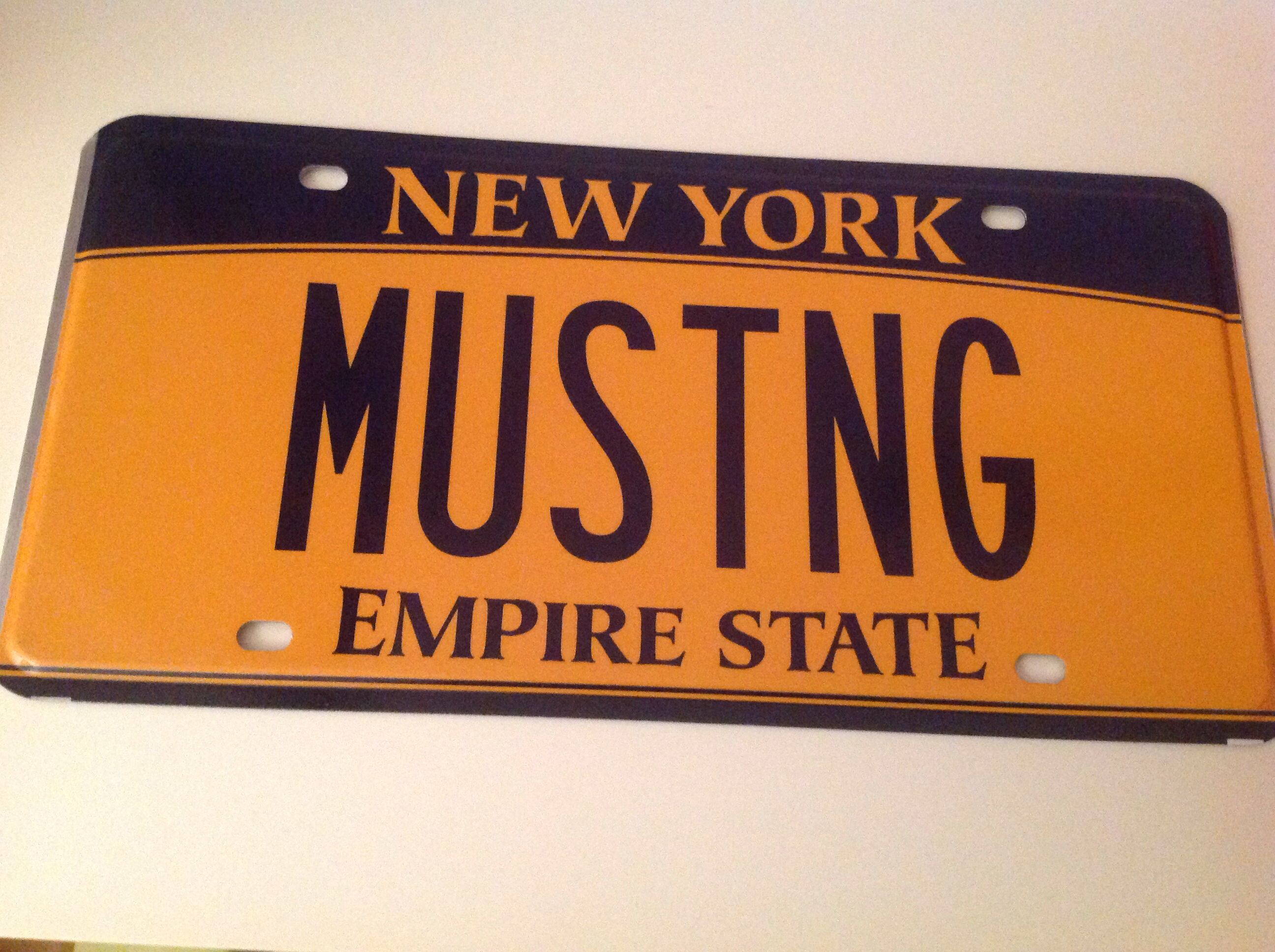 New plates mustang coupe mustang novelty sign