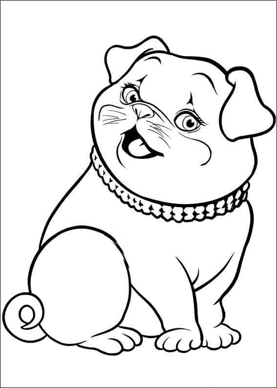 Dibujos para Colorear Barbie Pulgarcita 13 | Dibujos para colorear ...