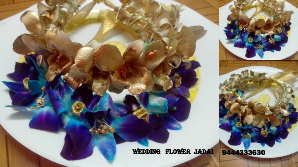 Veni Flower Jewllery Bridal Flowers Bridal Hair Accessories Rose Petals