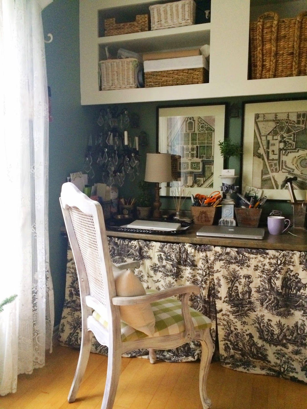 French Style Home Office Nen S Craft Ideas French Style Homes