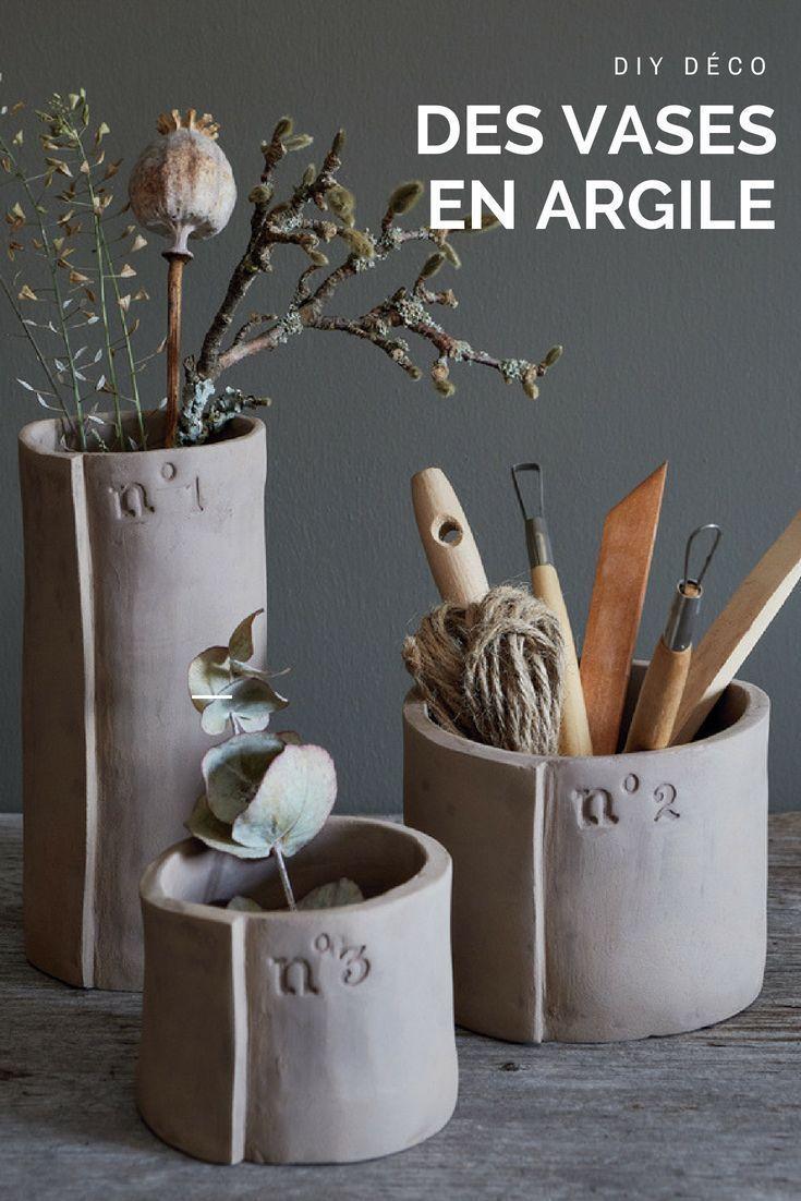 Poterie: fabriquer des vases en argile