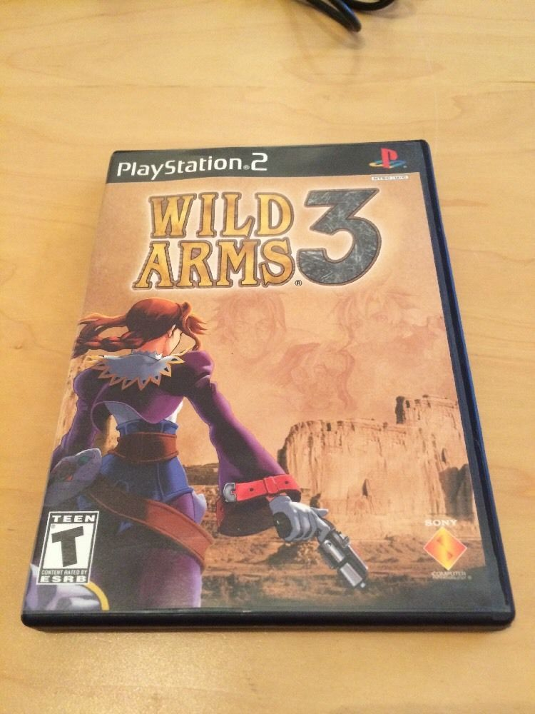 Sony i manual array wild arms 3 sony playstation 2 ps2 with manual ntsc uc in rh pinterest fandeluxe Image collections