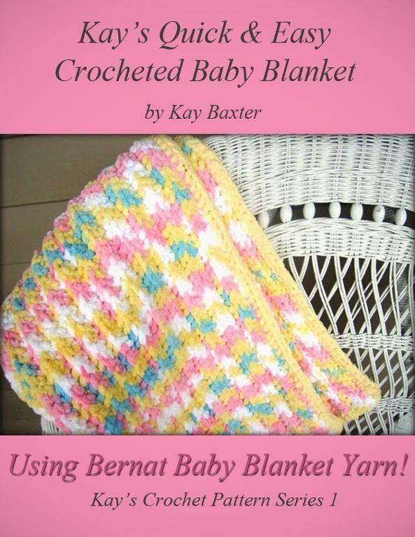 Quick & Easy Crochet Baby Blanket | Häkeln | Pinterest | Häkeln