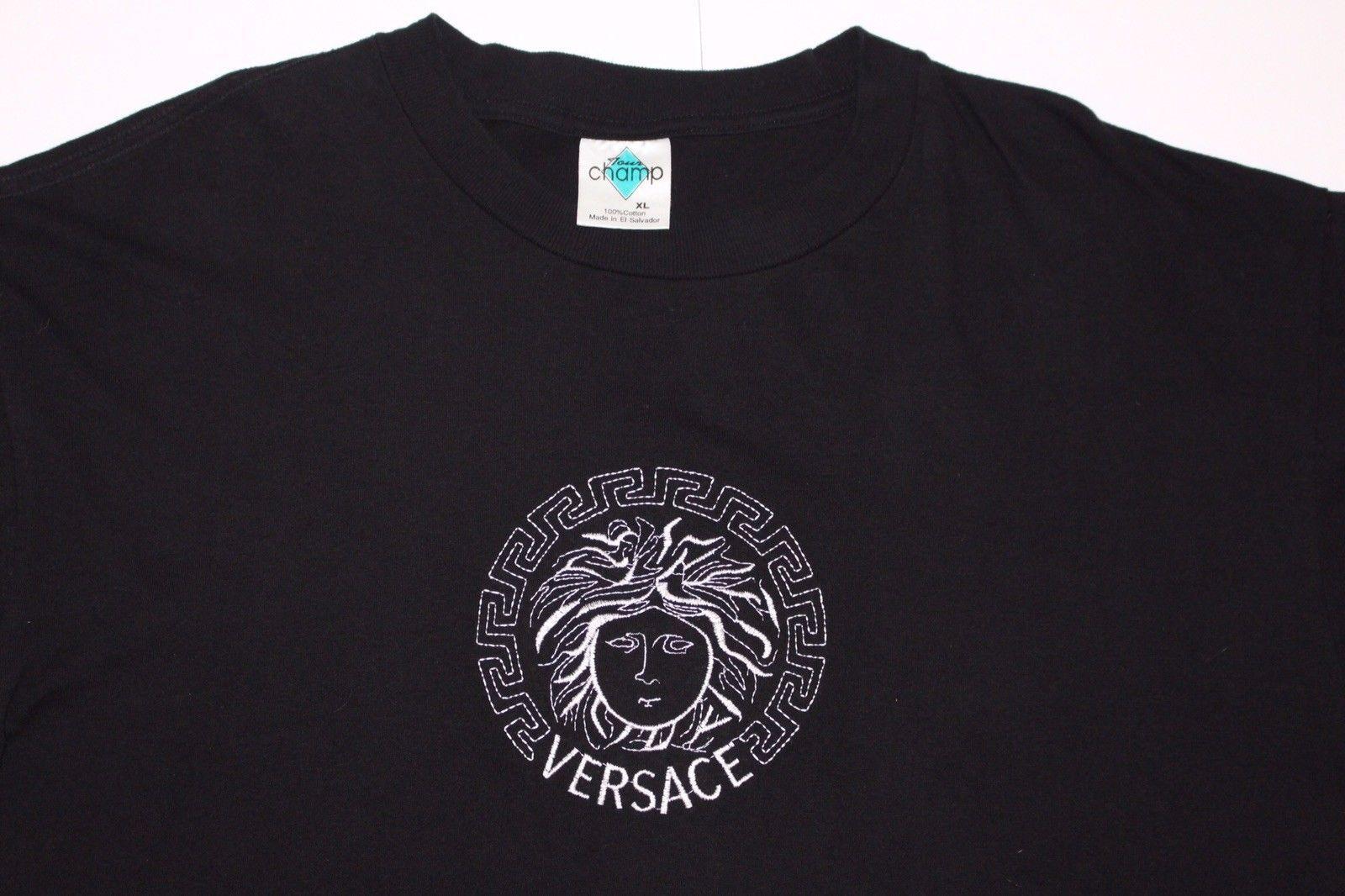17edd9d49 Versace Jeans Tiger Logo T Shirt Black - raveitsafe