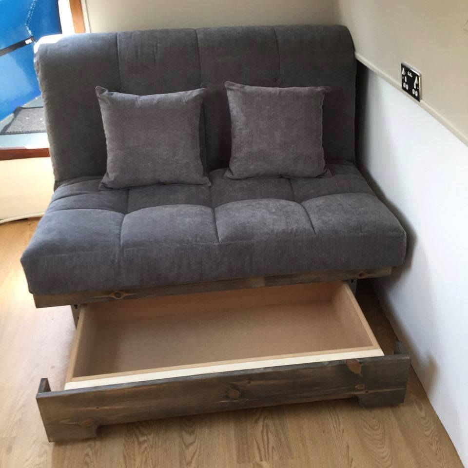 narrow sofa bed