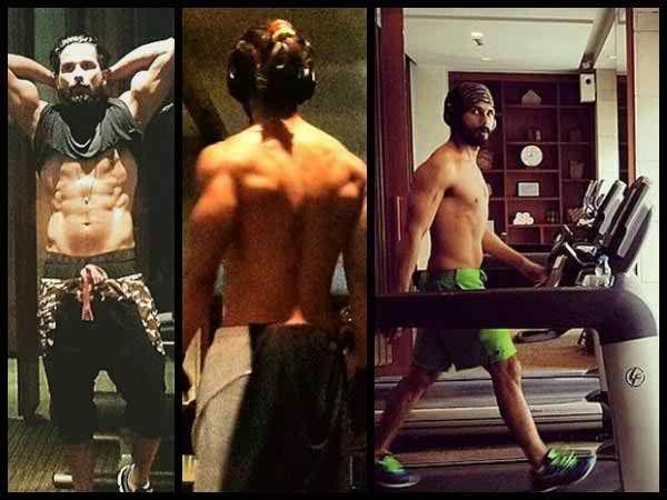 Arjun kapoor body building diet