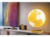 Atmosphere Bright yellow wereldbol met verlichting