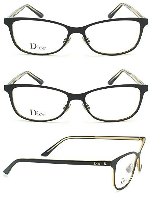 Christian Dior Montaigne 31 Women Metal Eyeglasses (Matte Black ...
