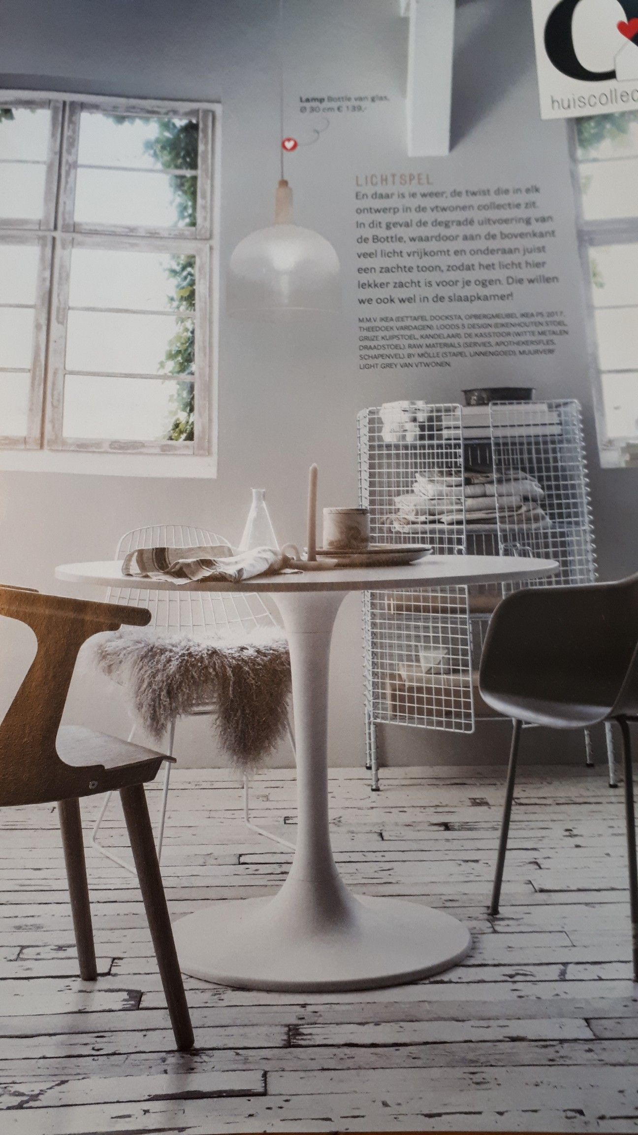 Ikea Witte Ronde Tafel.Ronde Witte Tafel Ikea Kantoor Home Office Tafel Ikea