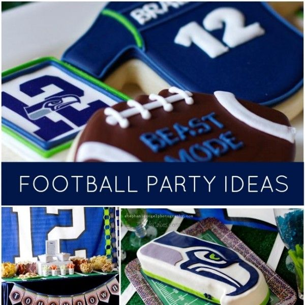 Looking for an older boy's party theme? You're sure to find guy pleasing ideas at this 12th Man Football Party!
