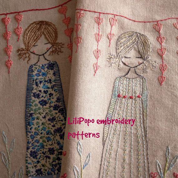 En el jardín sampler para coser | Cuadros de bastidor | Pinterest ...