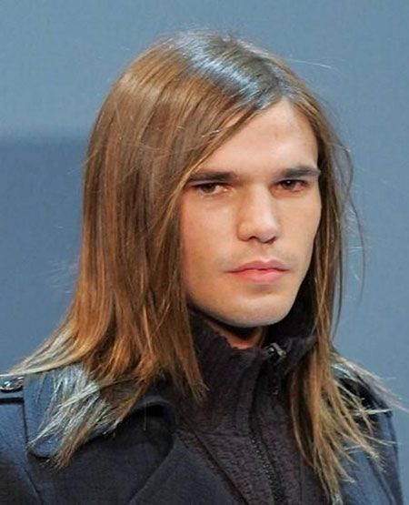 Long Straight Flat Hair Long Hairstyles For Men Boys