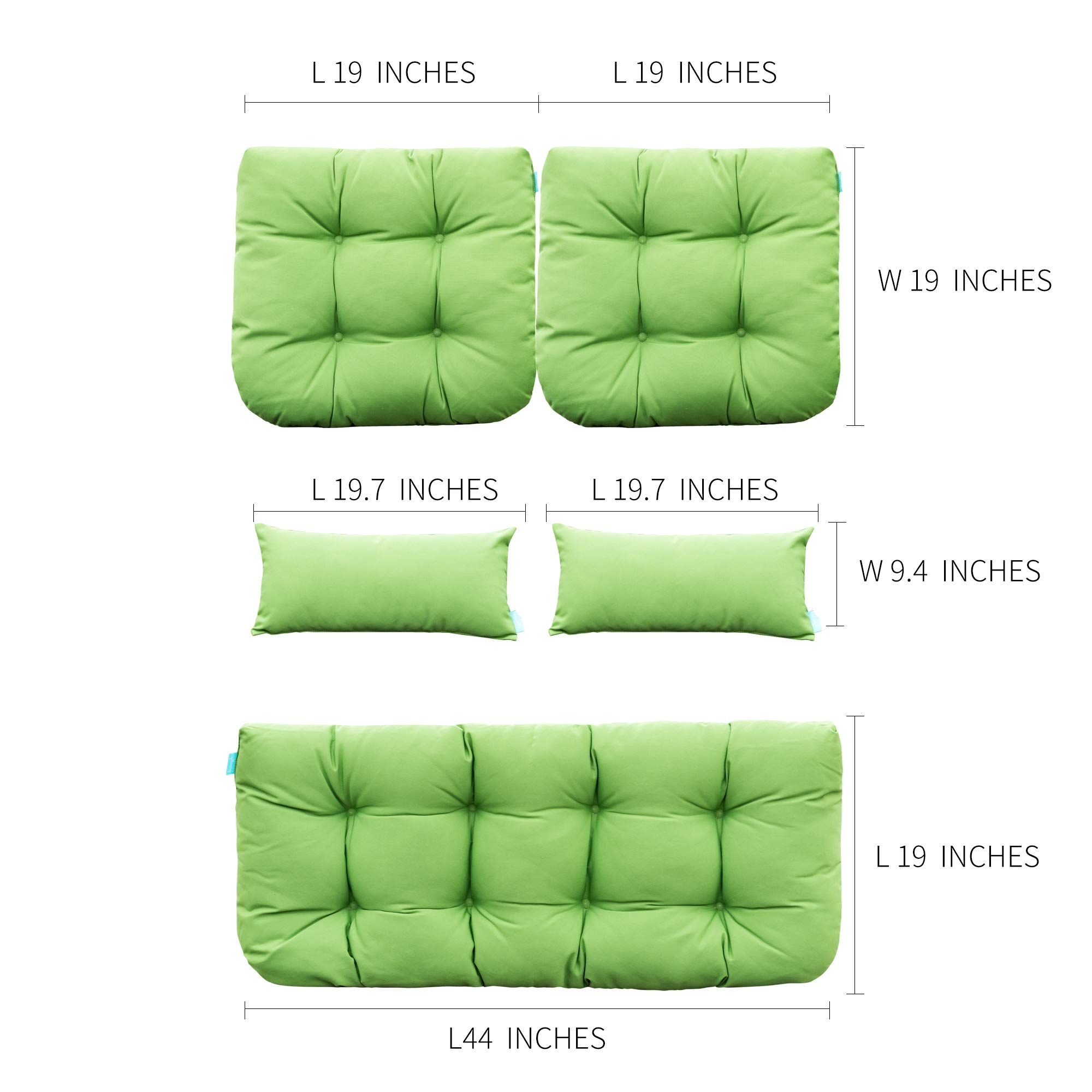 Qilloway Outdoor Cushions Loveseat Furniture In 2020 Furniture