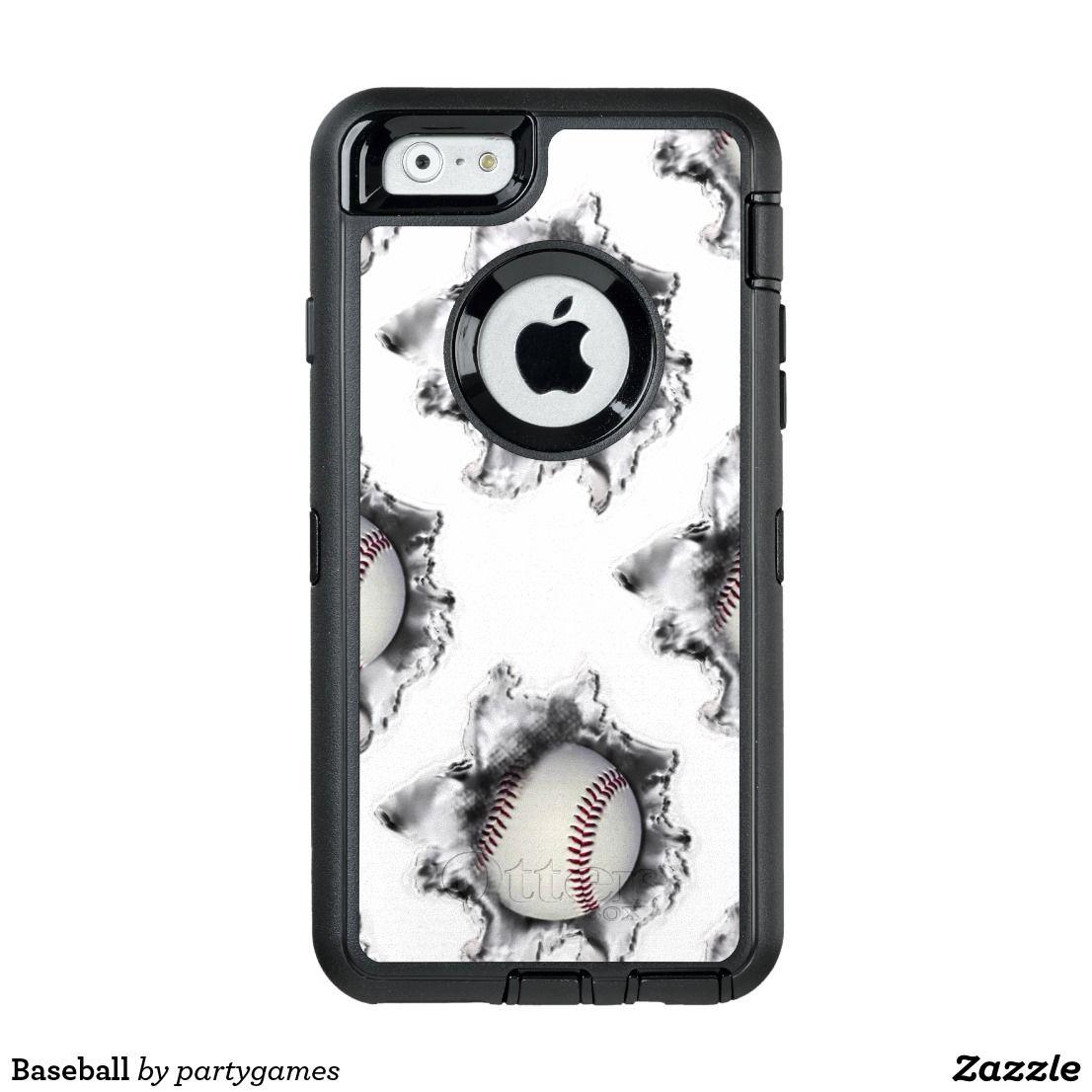 reputable site 33db5 0c38a Baseball OtterBox iPhone Case   Zazzle.com   Baseball   Iphone case ...