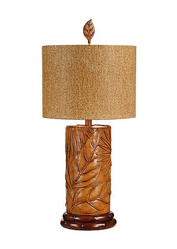 TROPICAL FRONDS LAMP Wildwood Lamps   Tommy Bahama Collection