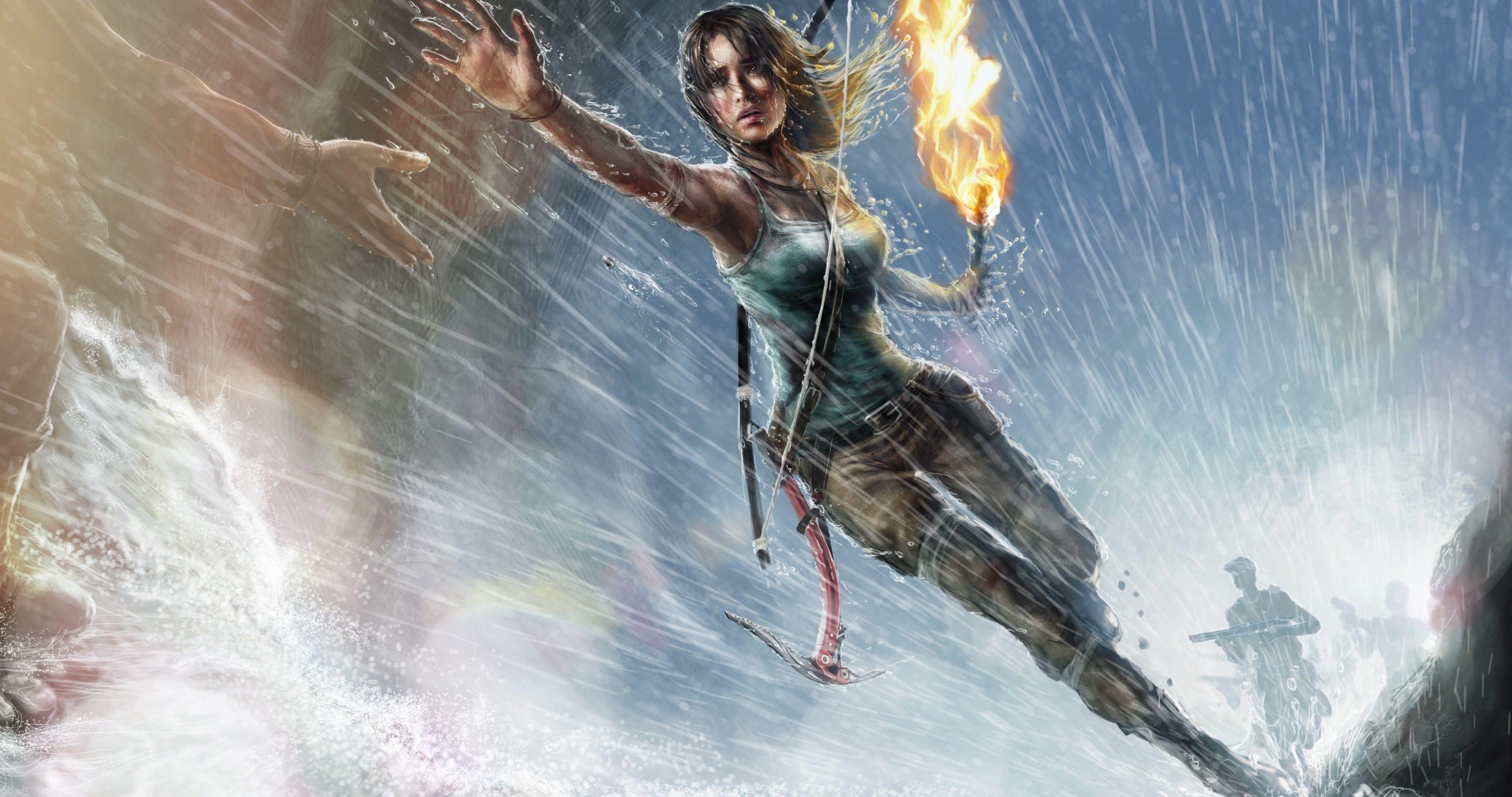 Tomb Raider Game Wallpaper Hd 4k Ultra Hd Wallpaper Tomb Raider Art Tomb Raider Wallpaper Tomb Raider