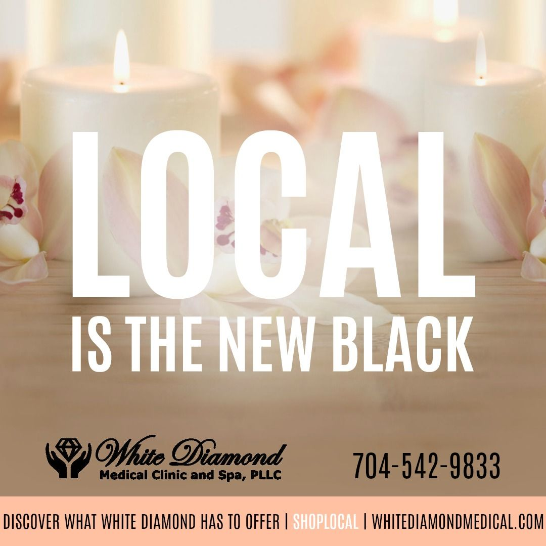 You can shop local for your medical needs too! White