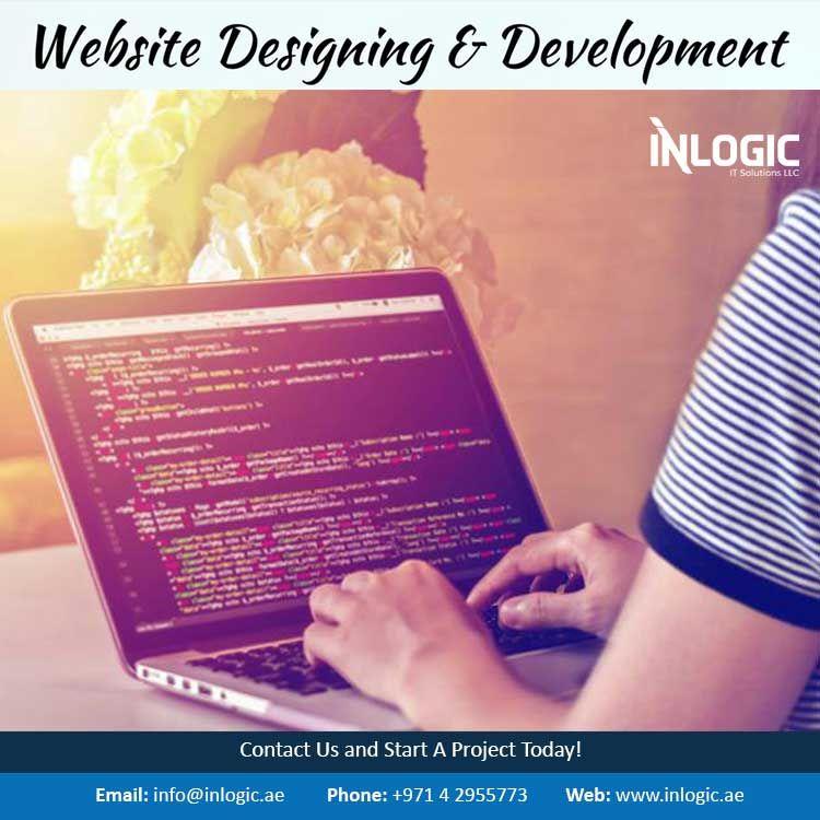 Inlogic Cms Custom Website Development Services Dubai Website Development Web Design Web Design Agency