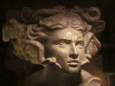 ancient greek myths medusa