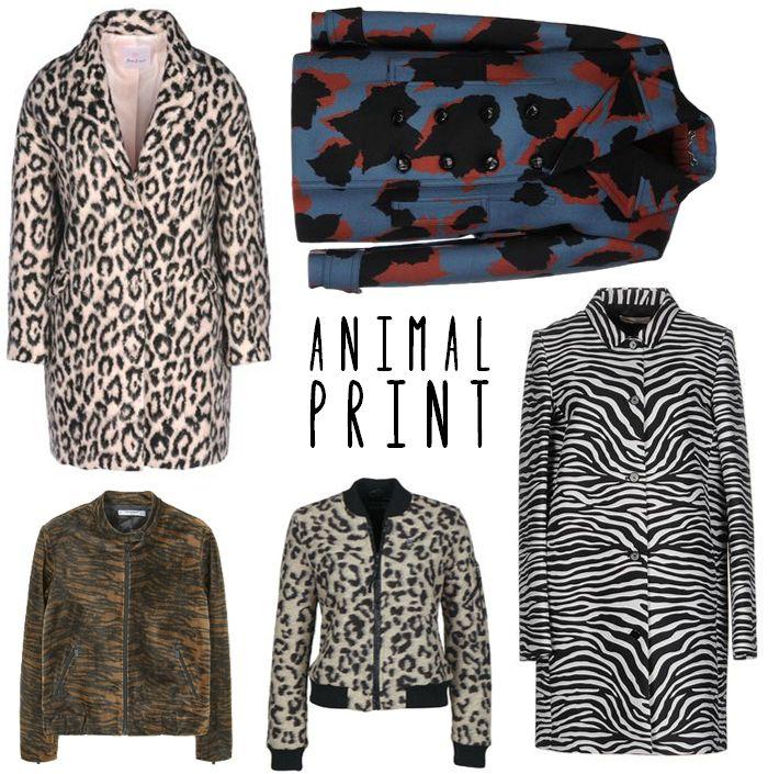 Trend Animal Print Jacken