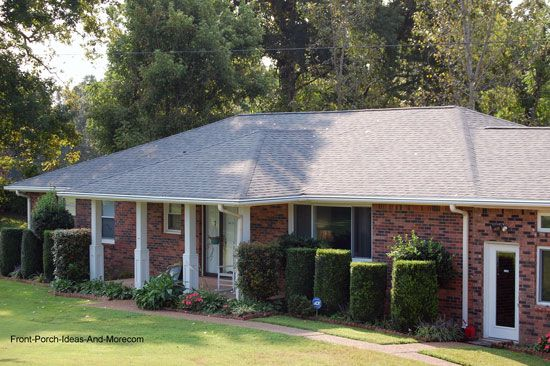 Ranch Home Porches Add Appeal And Comfort House With Porch Hip