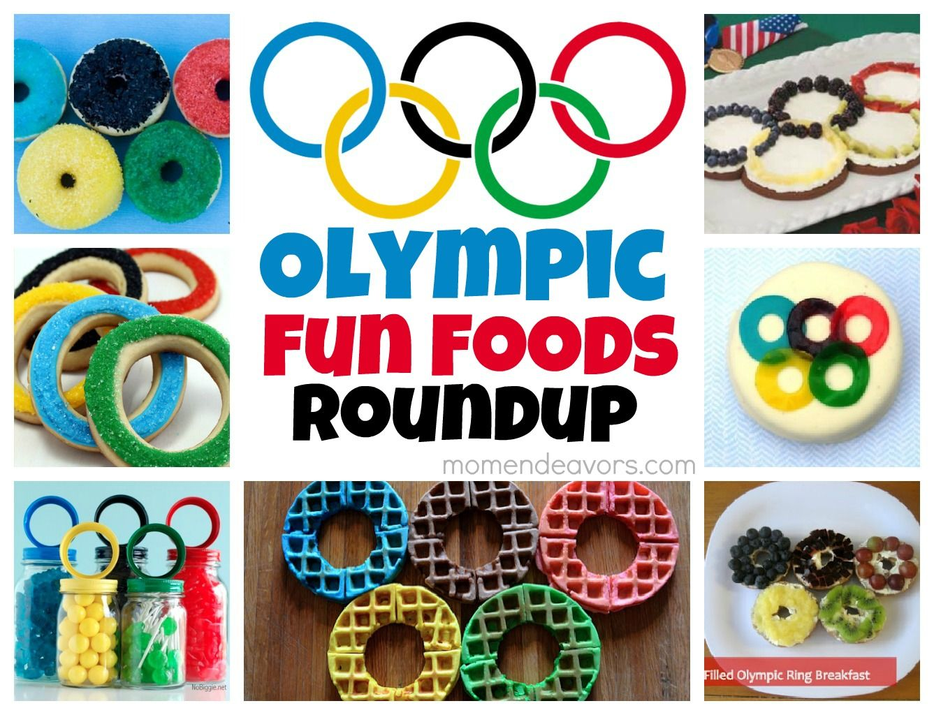 Olympic Rings Food Roundup