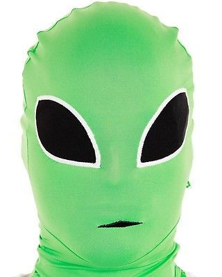 Alien Adult Morph Mask With Images Quick Costumes Full Face