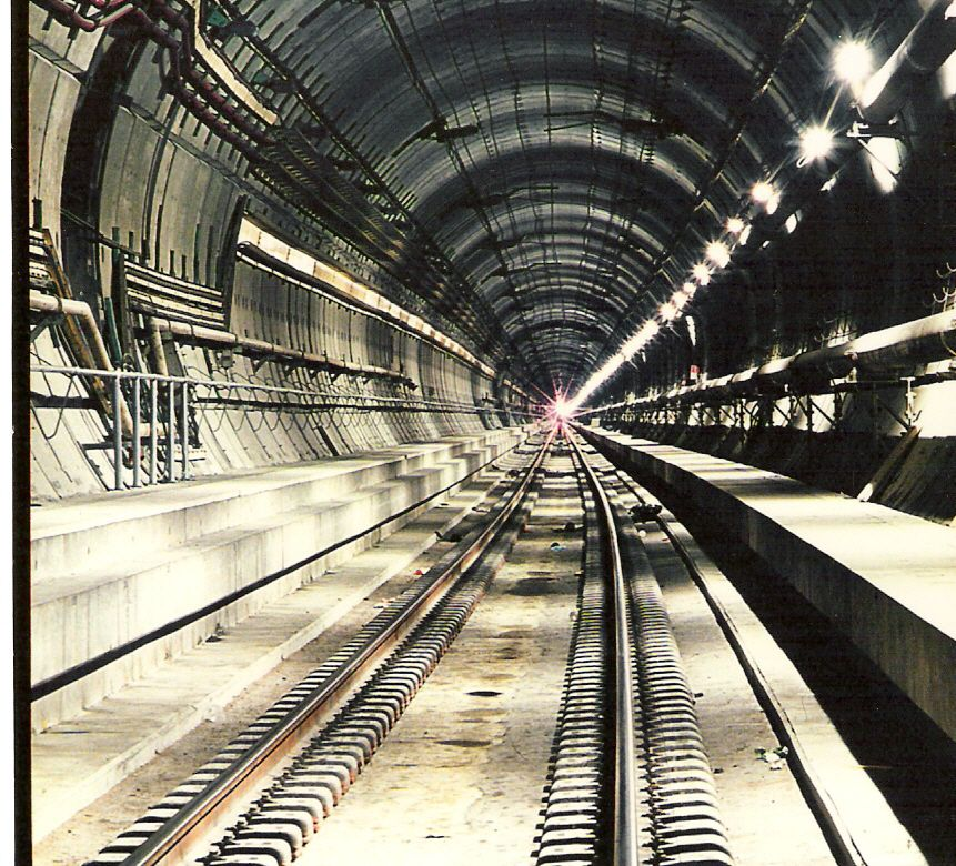 Channel tunnel project