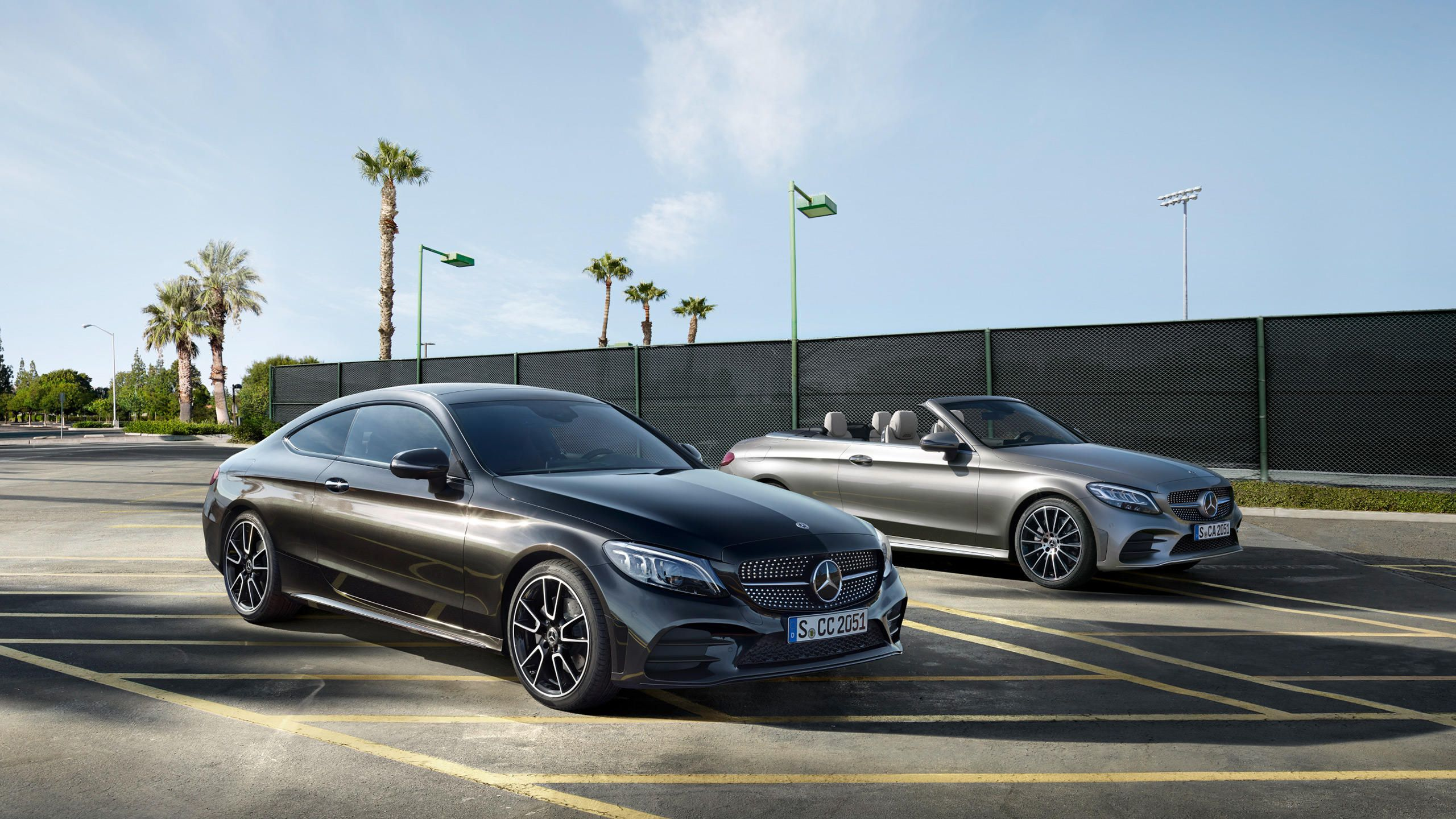 The New Mercedes Benz C Class Coupe C 205 And Cabriolet A 205