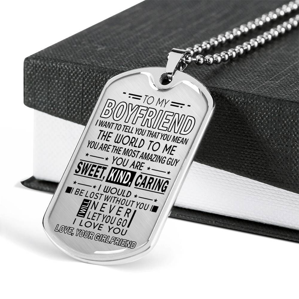 Pin On To My Boyfriend Dog Tag From Girlfriend