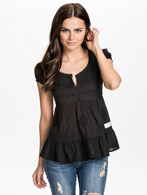 Wow - Girl Blouse - Odd Molly - Almost Black - Blouses & Shirts - # ·  Blouse OutfitBlack ...