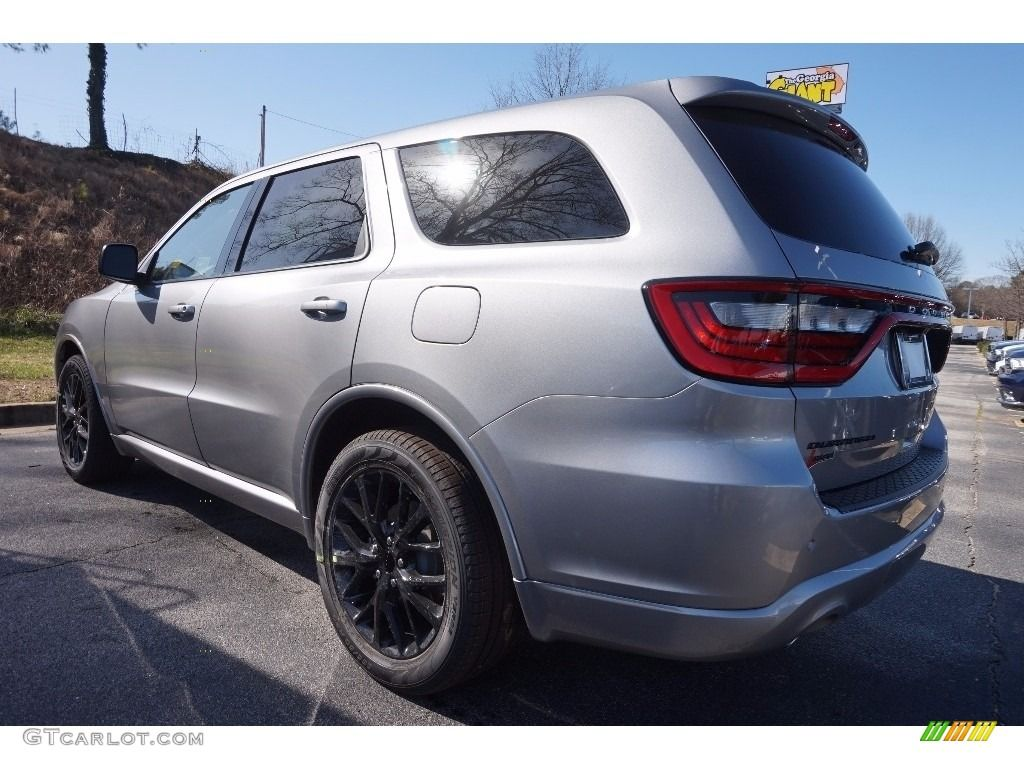2016 Durango Sxt Blacktop Billet Silver Metallic Black