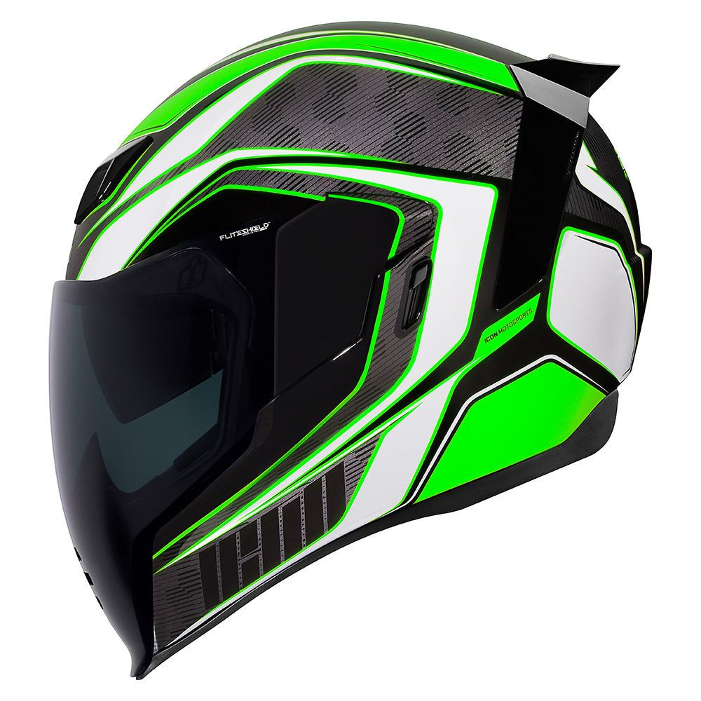 Raceflite Green Helmets Icon Motosports Ride Among
