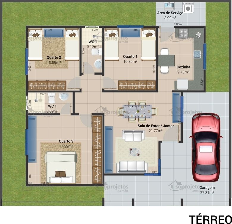 plan 3D en ligne Maison écolo   ecoHouse Pinterest 3d