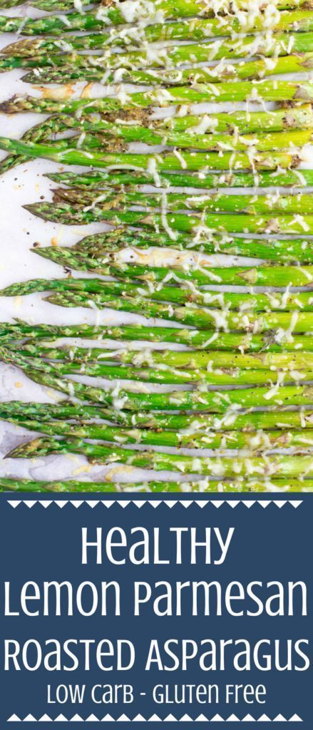 Healthy Lemon Parmesan Roasted Asparagus images