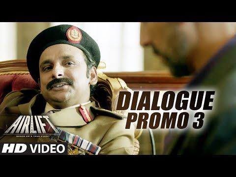 "#Bollywood Movie : #AIRLIFT =>DialoguePromo3 ""Mauke Hai Family Lekar Nikal Jaao"" Cast : #AkshayKumar #NimratKaur http://bit.ly/1OE7Mtw"
