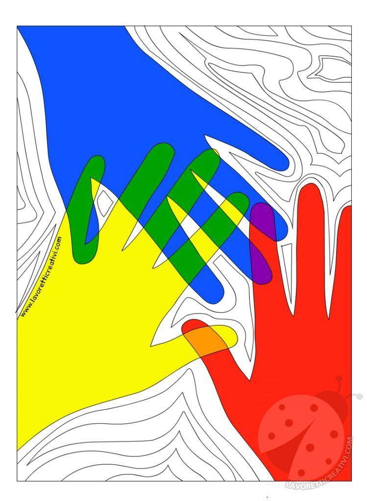 Attività Didattica Colori Caldi E Colori Freddi Lavoretti