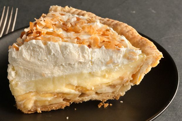 Banoconut Cream Pie - I used coconut milk in place of the whole milk too. I would increase the corn starch if you do this though. I also used non-dairy whipping cream (found in the frozen section near the ice cream). And the non-dairy version of this pie was great!