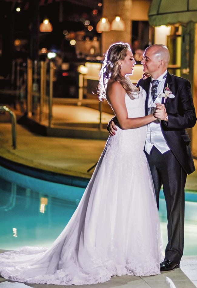 Natalia Andrea Vargas y Jairo Alberto Escalante se casaron en la iglesia María…