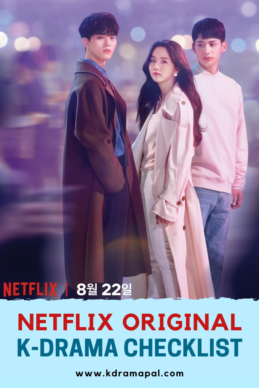 Netflix Original Kdrama Checklist Korean Drama Netflix Drama