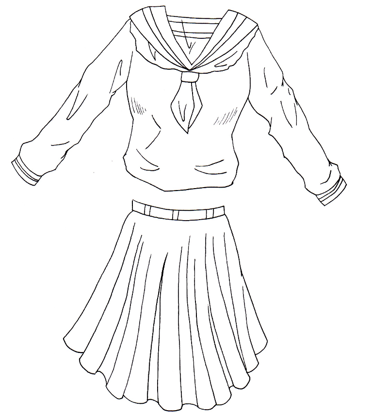 Comment dessiner des vetements de manga manga en 2018 pinterest comment dessiner comment - Comment dessiner des manga fille ...