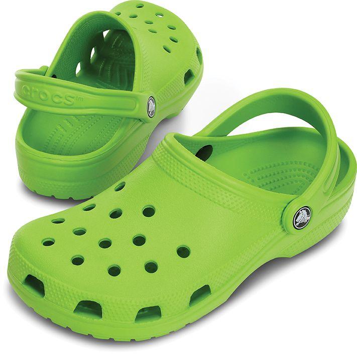 438d7a1abdde0 Crocs Classic Cayman Volt Green Adults. UK4 to UK9